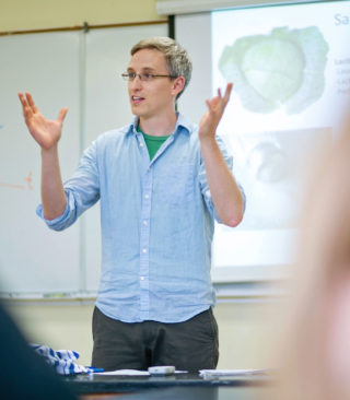 David Coffey teaching