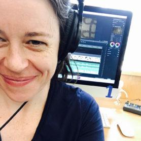 Heather Harvey editing video
