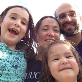 Langdon Martin with family