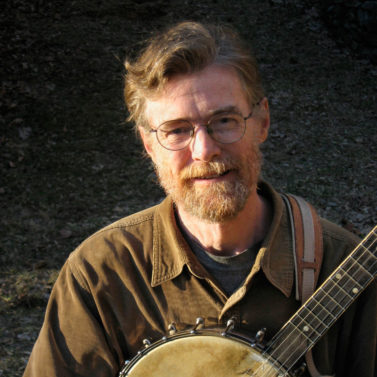 Phil Jamison with banjo