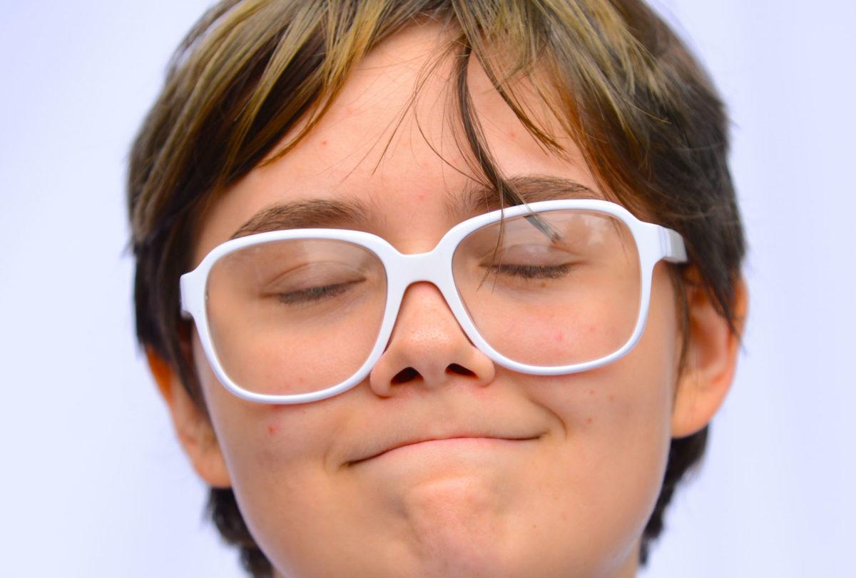 Happy glasses