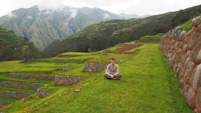 Warren Wilson College student Leah Havlicek spent the spring semester living in Peru thanks to the Gilman scholarship.