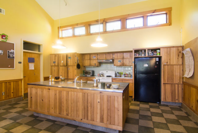 EcoDorm kitchen