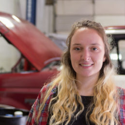 "Warren Wilson College sophomore Charlotte Surface calls the need for everyone to have more automotive knowledge ""a basic safety issue."""