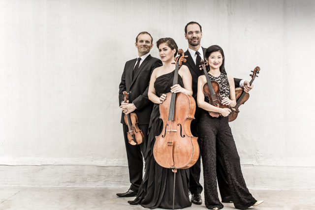The Jasper String Quartet launches Warren Wilson College's Swannanoa Chamber Music Festival with July 1-3 performances in Asheville, Waynesville and Greenville.