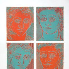 Bette Bates Making Faces