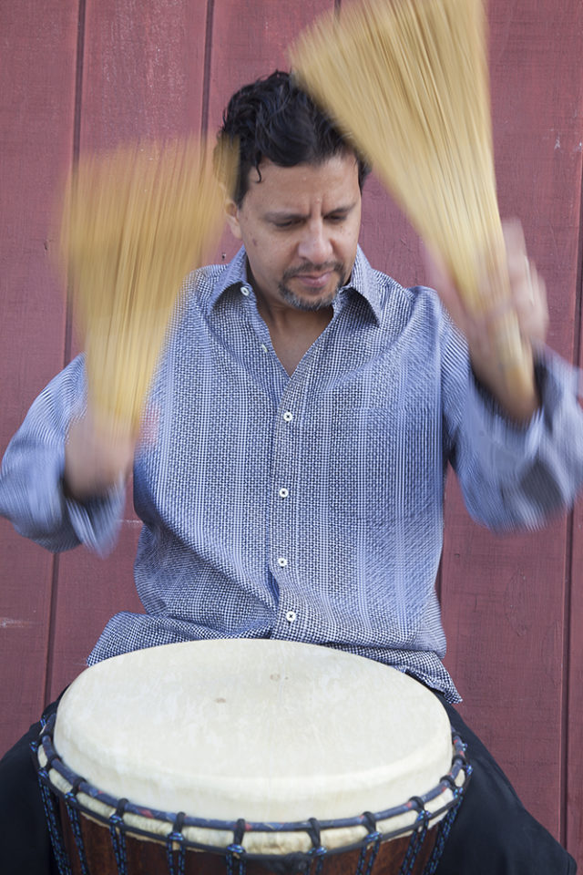 Percussionist Yousif Sheronick is part of the first concerts of the 2017 Swannanoa Chamber Music Festival.