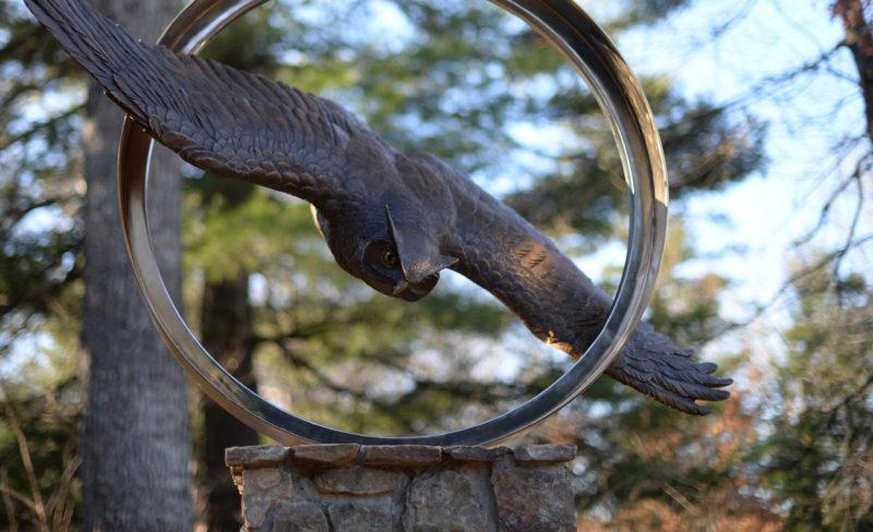 Owl Statue - Mascot