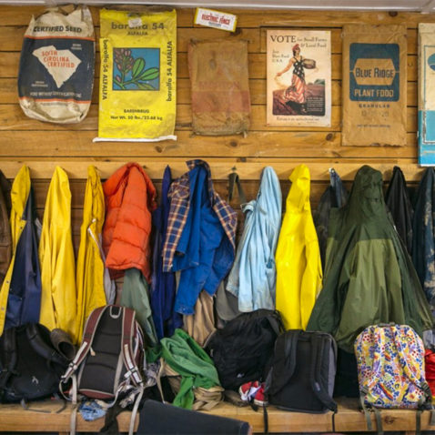 Coats in Farm Office - Work Program