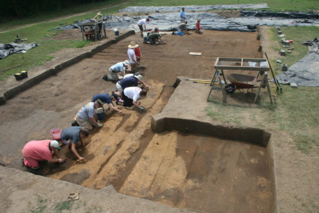The Berry site excavation is a research project primarily supported by Warren Wilson College, Tulane University and the University of Michigan. The site is also affiliated with Western Piedmont Community College.
