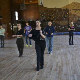 Carwile salsa dancing
