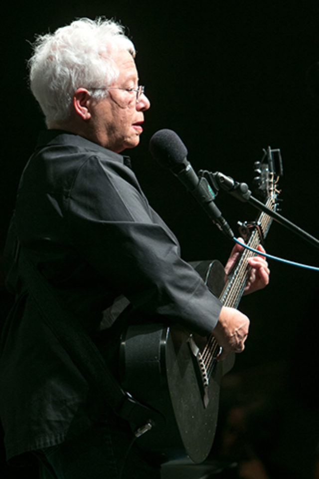 Grammy Award-winning singer-songwriter Janis Ian takes classes and teaches during The Swannanoa Gathering.