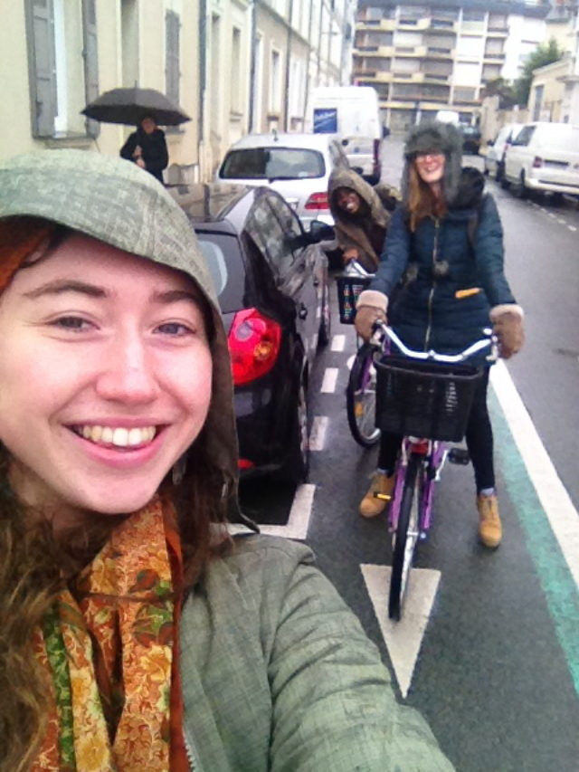 India Orman '16 is spending the semester at the Université Catholique d'el Oeste in France.