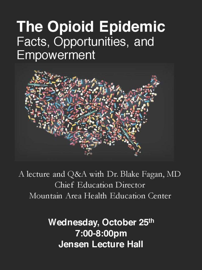 Opioid Epidemic poster