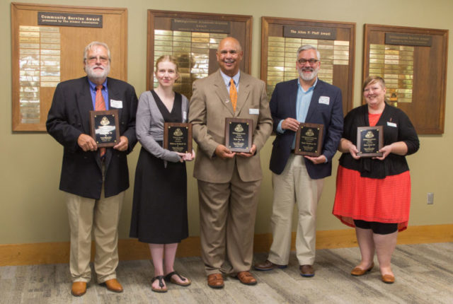 2017 Alumni Award winners