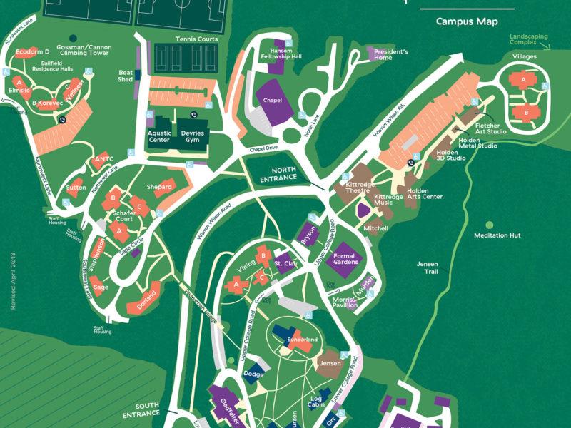 2018 Campus Map