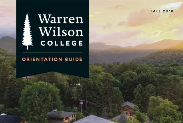 2018 Orientation Guide Cover