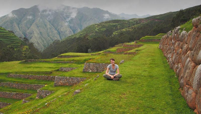 Leah Havlicek in Peru