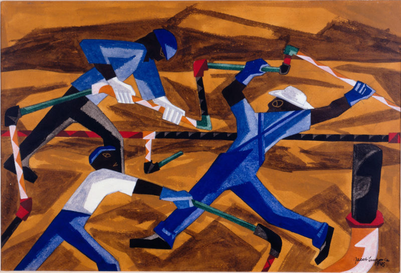 Steelworkers by Jacob Lawrence